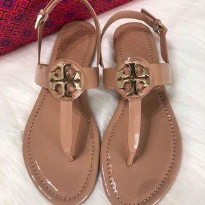 Tory Burch Shoes - {Tory Burch} Bryce Patent Thong Sandals